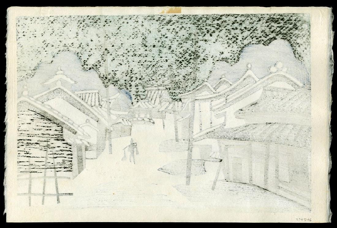 Kiyoshi Saito - Japanese Print - 2