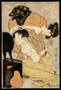 Kitagawa Utamaro - Japanese Print