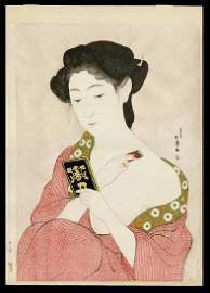 Hashiguchi Goyo - Japanese Print