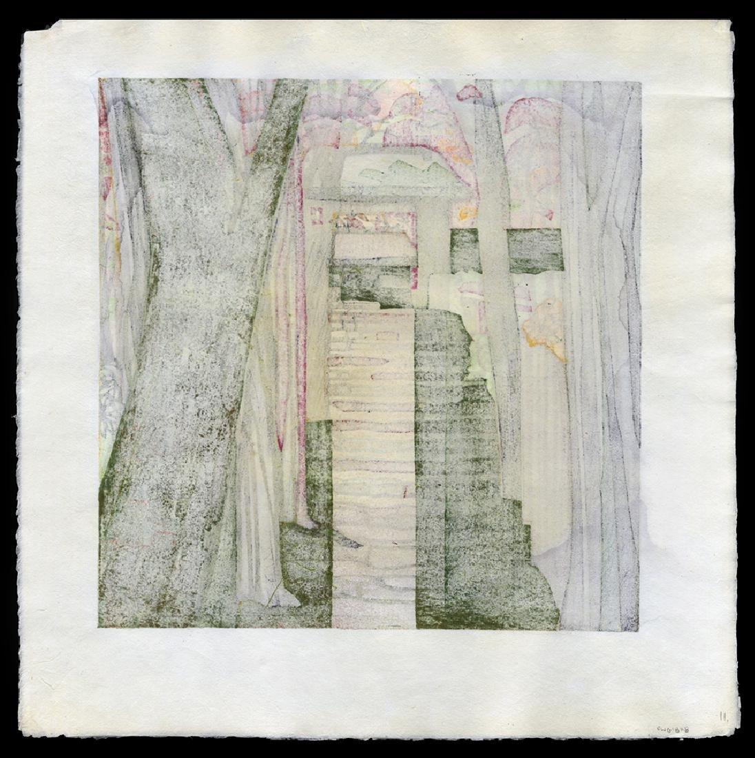 Clifton Karhu - Japanese Print - 2