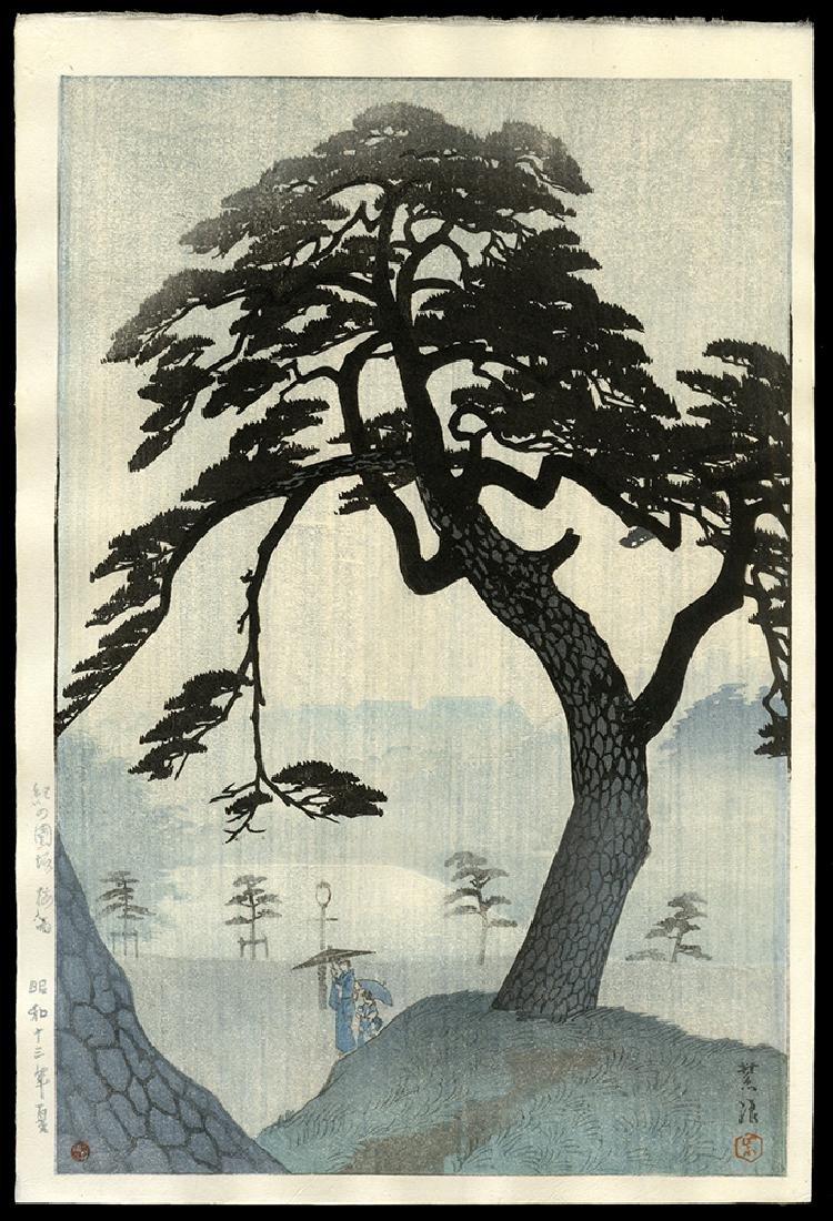 Kasamatsu Shiro - Japanese Print