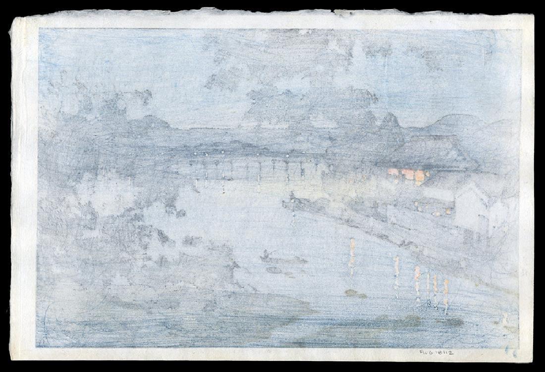 Hiroshi Yoshida - Japanese Print - 2