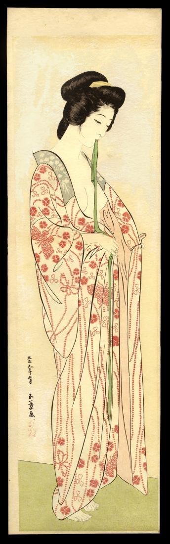 Hashiguchi Goyo Japanese Woodblock Print