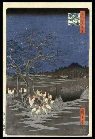 Ando Hiroshige Japanese Woodblock Print