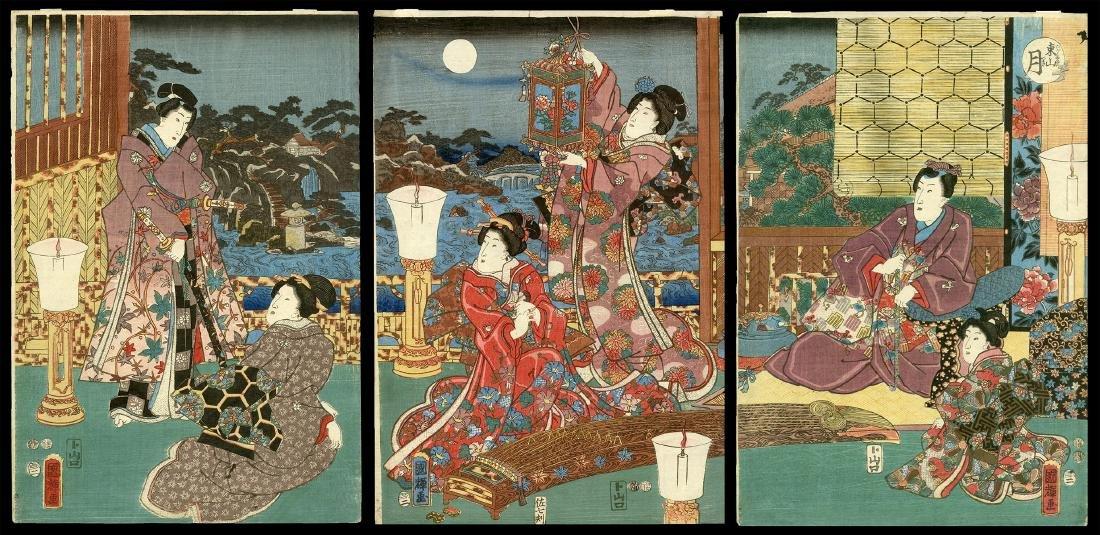 Utagawa Kuniteru - Japanese Woodblock Print
