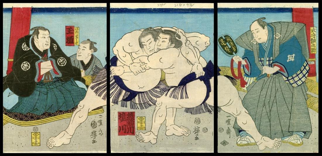 Utagawa Kuniteru II - Japanese Woodblock Print
