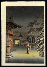 Tsuchiya Koitsu - Japanese Woodblock Print