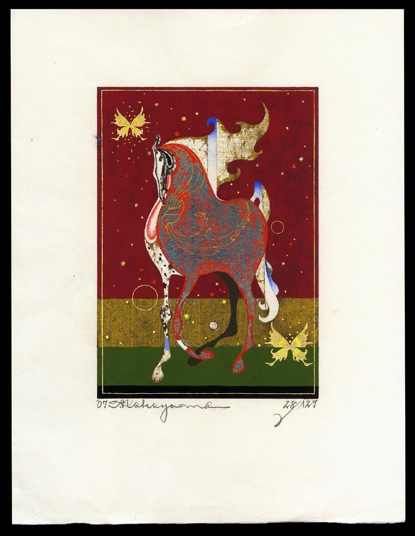 Tadashi Nakayama - Japanese Woodblock Print