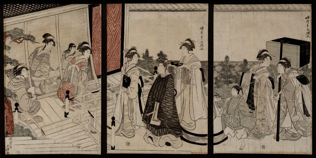 Rekisentai Eiri - Japanese Print