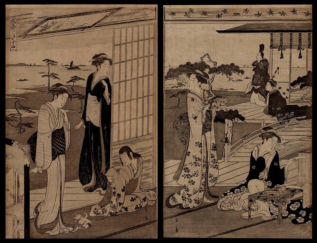 Hosoda Eishi - Japanese Print