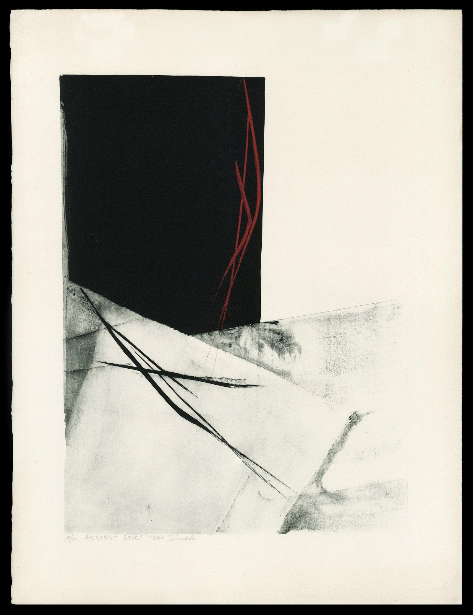 Toko Shinoda Japanese Print - Ancient Story
