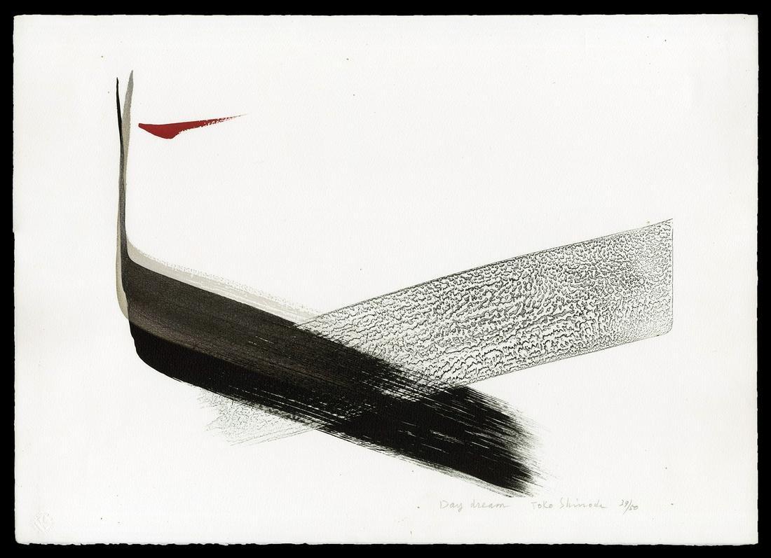 Toko Shinoda Japanese Print - Day Dream