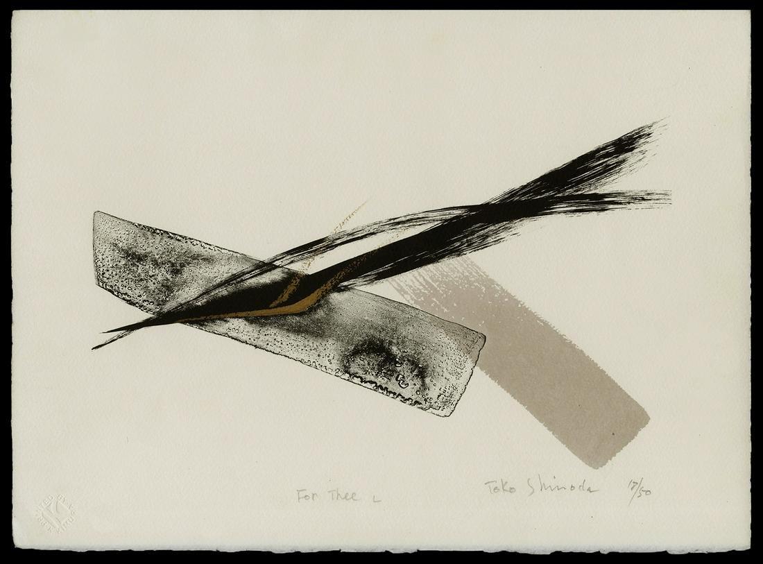 Toko Shinoda Japanese Print - For Thee L
