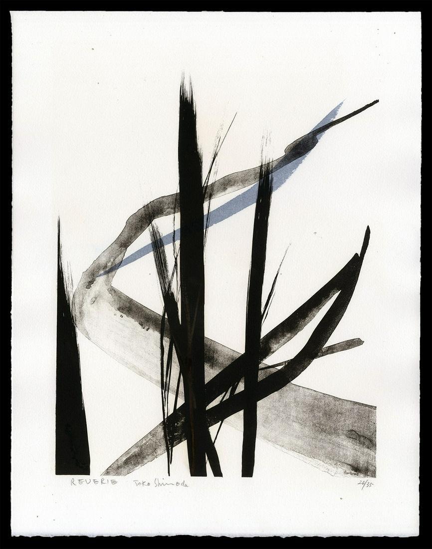 Toko Shinoda Japanese Print - Reverie