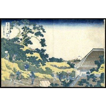 6: Katsushika Hokusai Woodblock