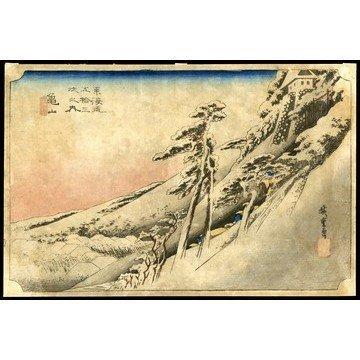 8: Ando Hiroshige Woodblock