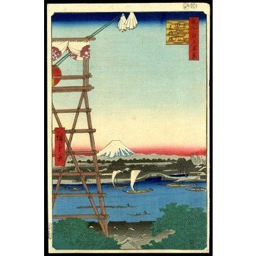10: Ando Hiroshige Woodblock