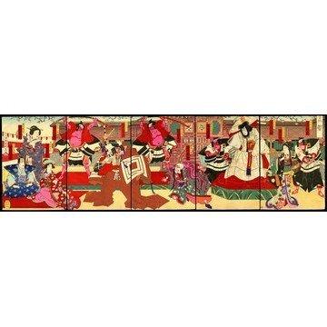 15: Utagawa Kunisada III Woodblock