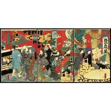 16: Utagawa Toyokuni III Woodblock