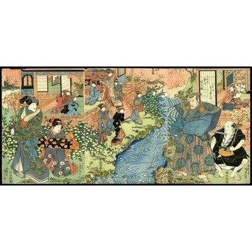 17: Gototei Kunisada Woodblock