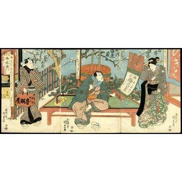 18: Gototei Kunisada Woodblock