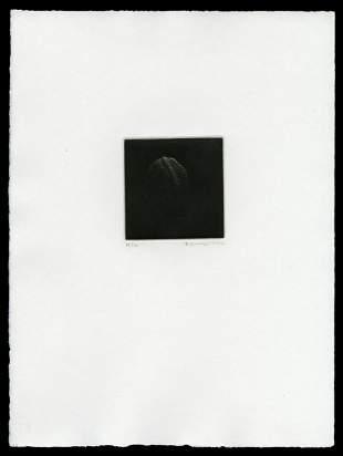 Yozo Hamaguchi Mezzotint - Walnut