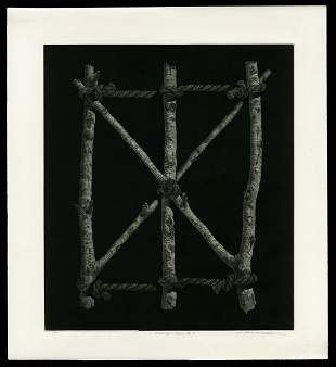 Katsunori Hamanishi Mezzotint - Situation - Work No. 14
