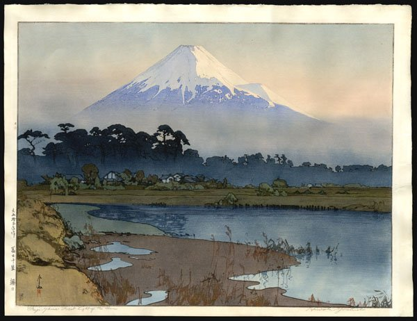 15: Hiroshi Yoshida Woodblock