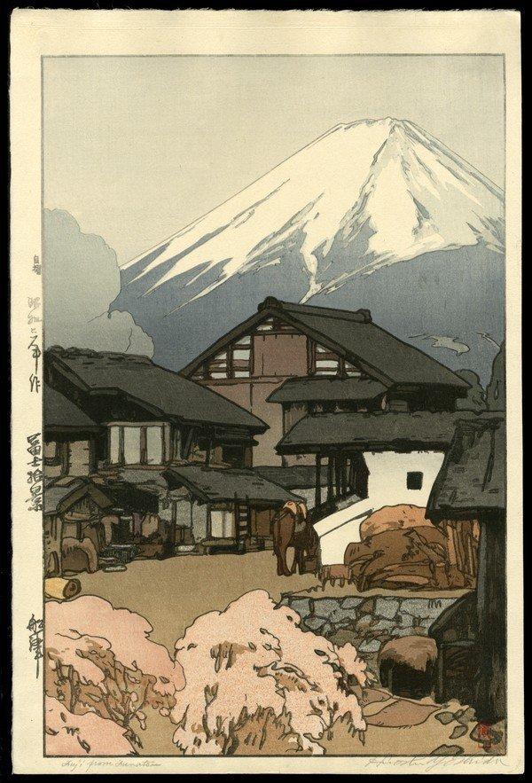 17: Hiroshi Yoshida Woodblock
