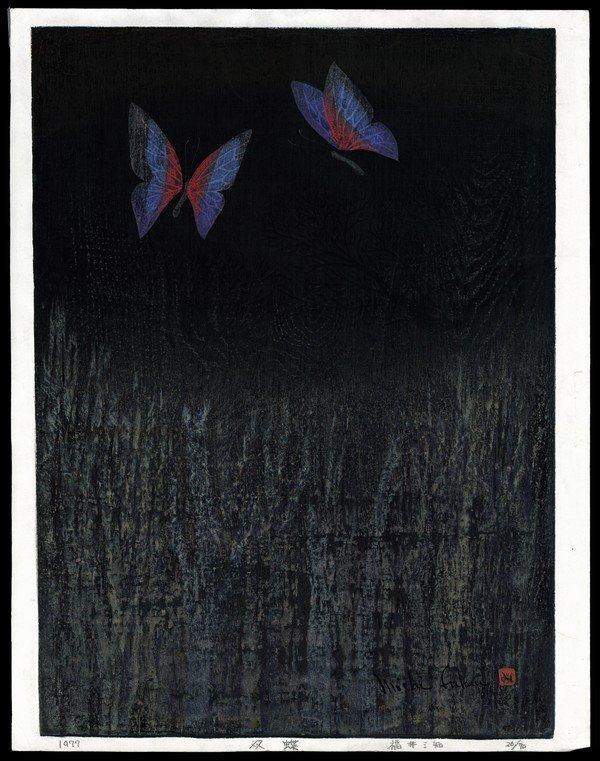 23: Michi Fukui Woodblock