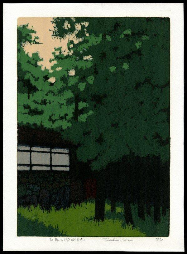 24: Ichiro Fukushima Woodblock