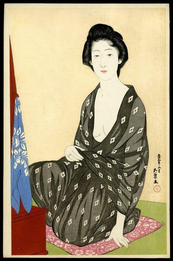 30: Hashiguchi Goyo Woodblock