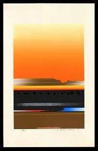 Tetsuro Sawada Silkscreen - Untitled