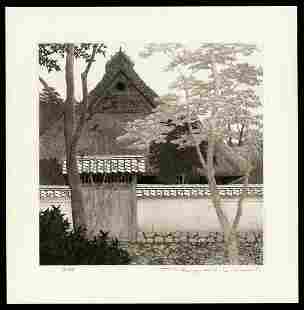 Ryohei Tanaka Etching - Back Gate