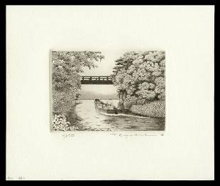 Ryohei Tanaka Etching And Aquatint - Toward Lake