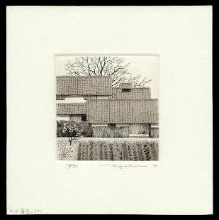 Ryohei Tanaka Etching - Spring Has Coming No. 2