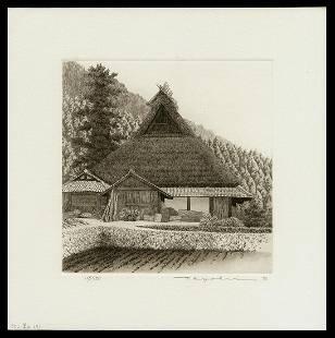 Ryohei Tanaka Etching And Aquatint - Miyama No. 3