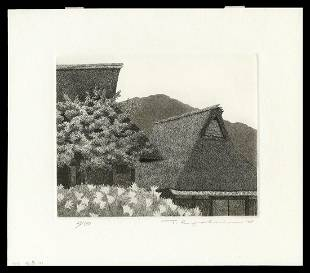 Ryohei Tanaka Etching And Aquatint - Arihara No. 2