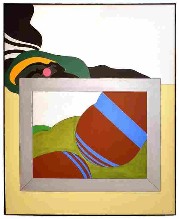 Go Yayanagi Acrylic On Canvas - Windows of the Universe