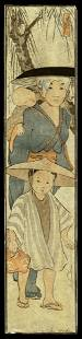 Helen Hyde Woodblock - From the Rice Field