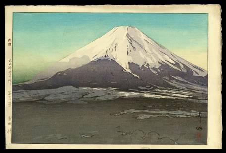 Hiroshi Yoshida Woodblock - Fuji from Yoshida