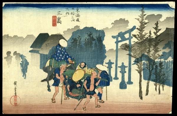 12: Ando Hiroshige Woodblock