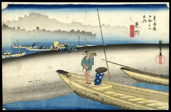 15: Ando Hiroshige Woodblock