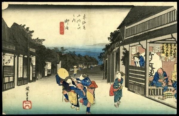 17: Ando Hiroshige Woodblock