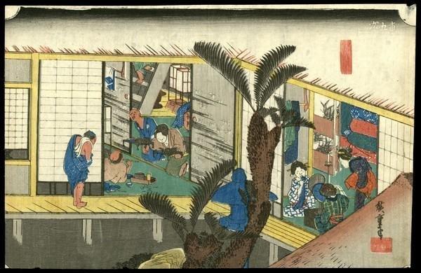 18: Ando Hiroshige Woodblock
