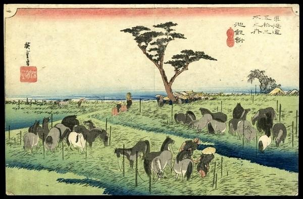 19: Ando Hiroshige Woodblock