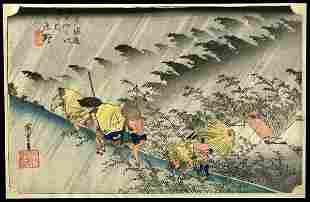 21: Ando Hiroshige Woodblock