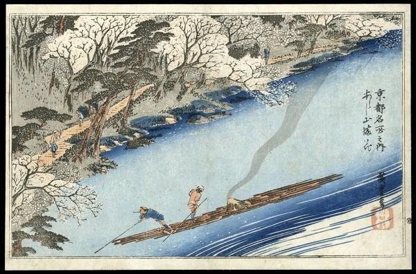 23: Ando Hiroshige Woodblock