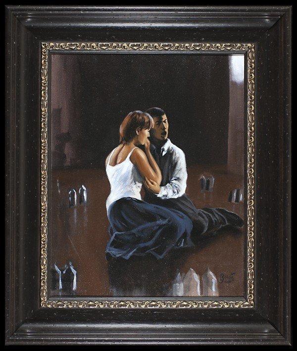 7: Paul Binnie Oil On Canvas