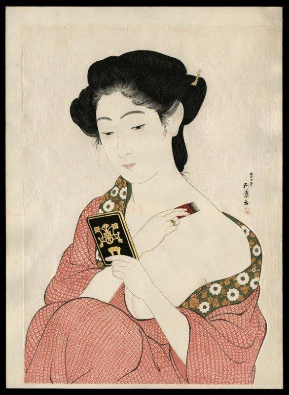 22: Hashiguchi Goyo Woodblock